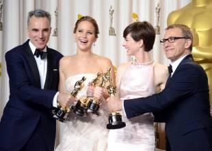 Jennifer Lawrence - L'Après Oscar - La Press Room 039