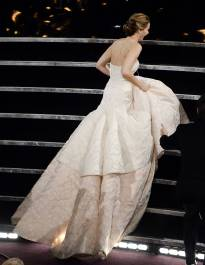 Jennifer Lawrence - Meilleure Actrice Pour Hapiness Therapy 005