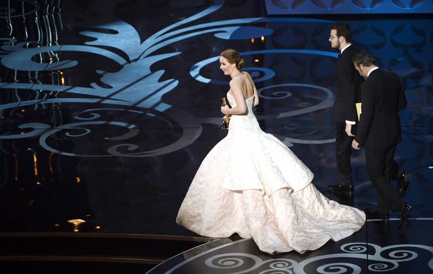 Jennifer Lawrence - Meilleure Actrice Pour Hapiness Therapy 014