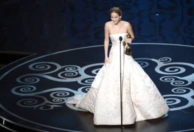 Jennifer Lawrence - Meilleure Actrice Pour Hapiness Therapy 018