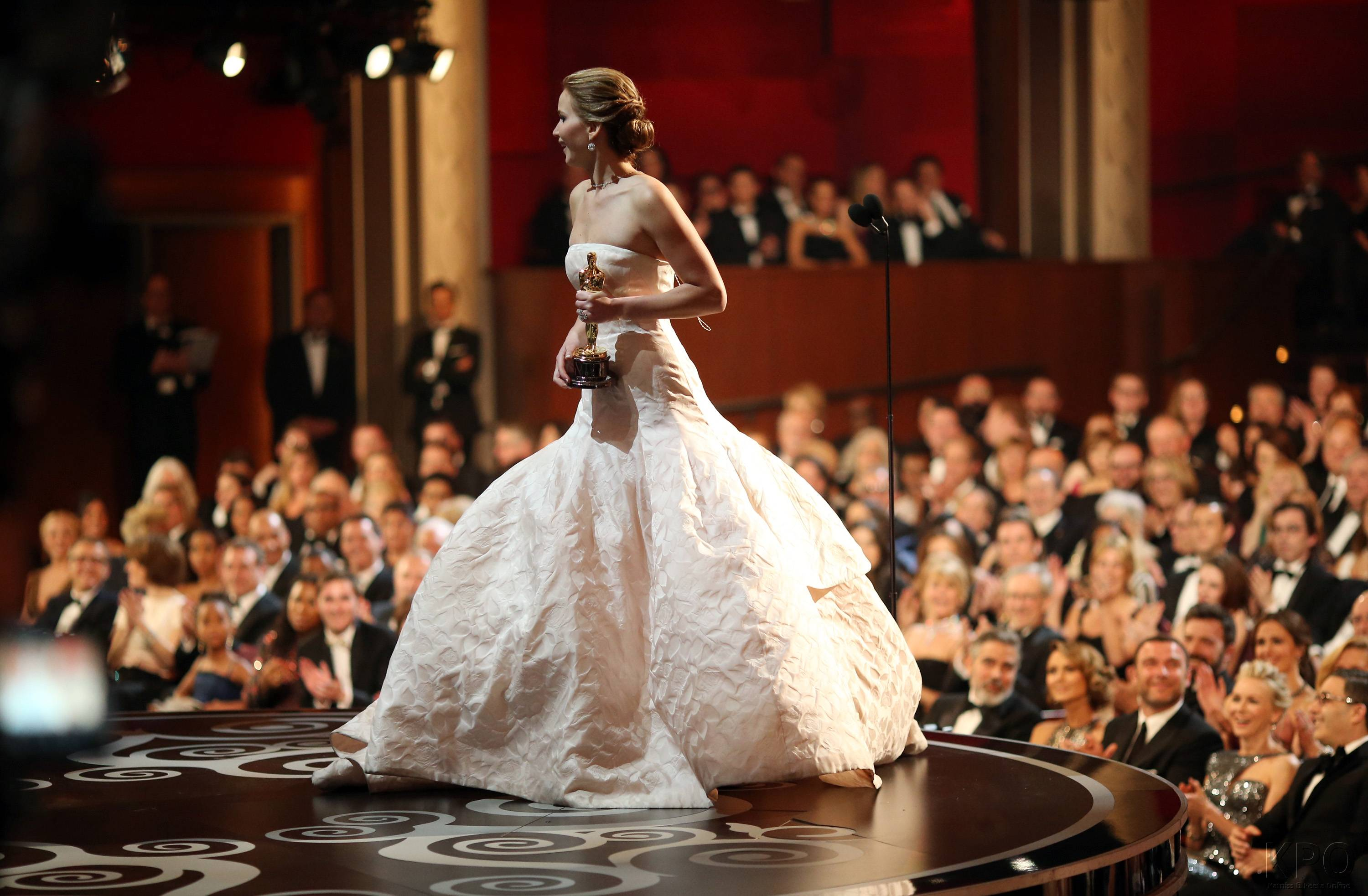 Jennifer Lawrence - Meilleure Actrice Pour Hapiness Therapy 019