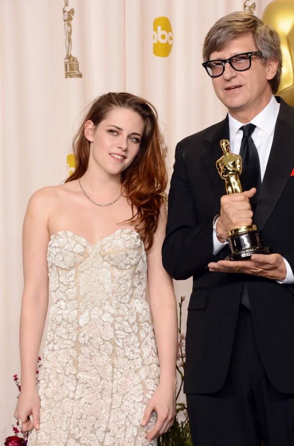 Kristen Stewart à la 85eme cérémonie des Oscars -La Press Room 13