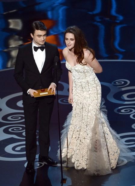 Kristen Stewart à la 85eme cérémonie des Oscars -La Remise des Oscars 01