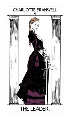 Charlotte Branwell, la directrice de l'institiut