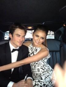 Elton John AIDS Fondation - Ian et Nina dans la voiture