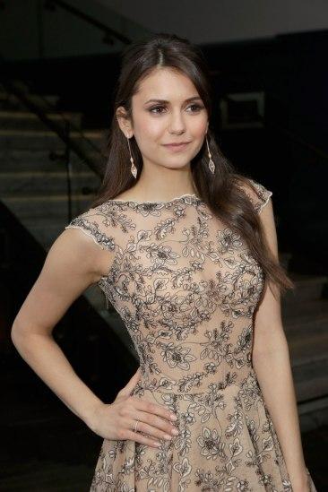 NINA DOBREV at The Weinstein Company Pre-Oscar Party