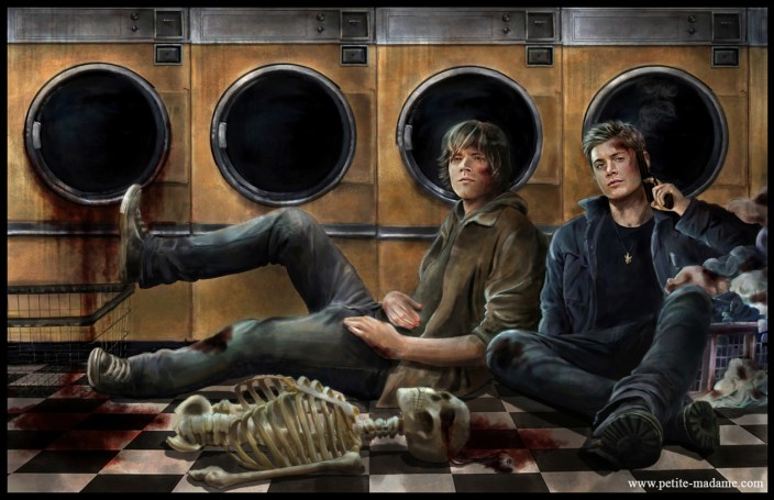 supernatural winchesters laundry day