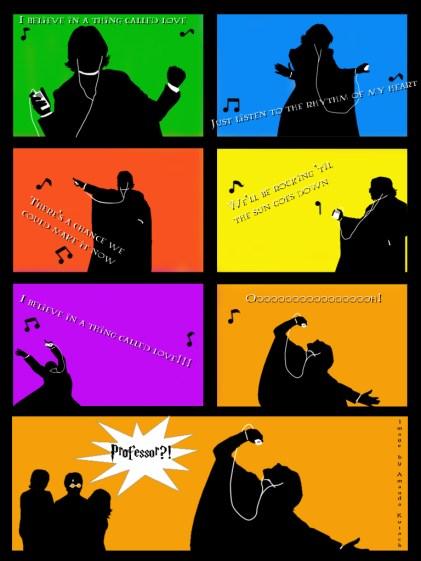 Snape's iPod Tribute for milo2by ~LadyNyaruInfinity
