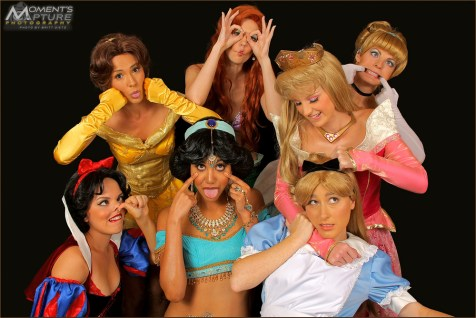Comic Con 10 Princess Funny Faces