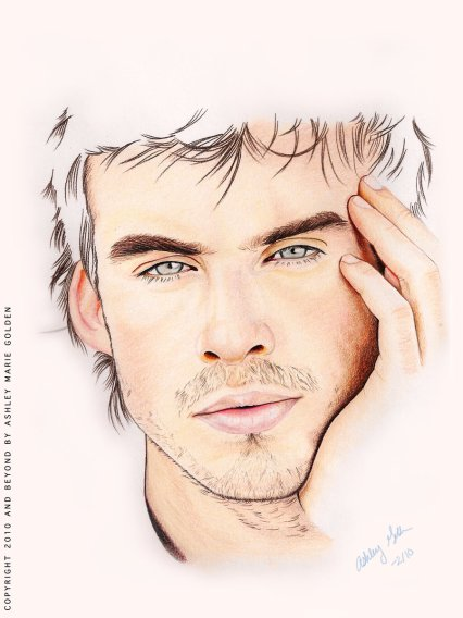 Damon_Portrait_by_Ashlbee