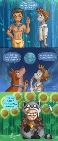 Twilight VS Pocahontas Par Daekazu