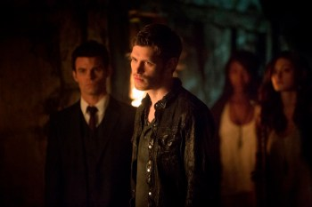 TVD 4x20 The Originals - Elijah, Klaus & Hayley