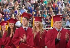 TVD 4x23 - Graduation - Elena, Caroline & Matt