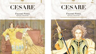 Photo of Cesare Tome 1 et Tome 2 de Fuyumi Soryo