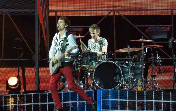 "MUSE  ""Plug in baby !"" Photo : KCS PRESSE"