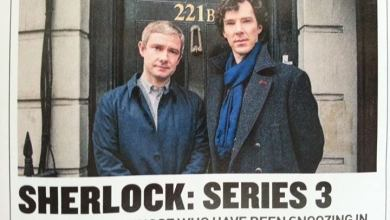Photo de Sherlock, la première photo promo !
