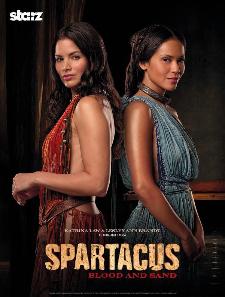 Mira et Naevia - Spartacus - Le sang des Gladiateurs
