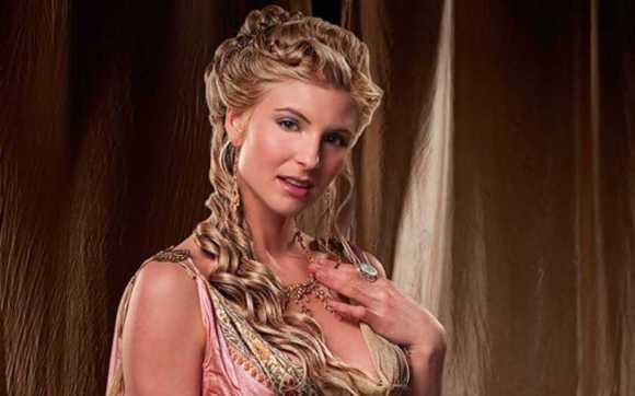 Ilithyia femme de Claudius Glaber - Spartacus