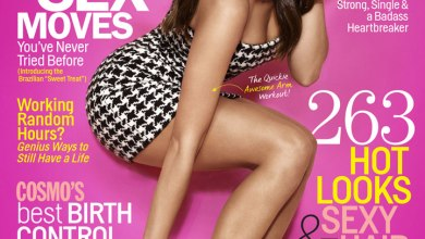 Photo of Nina Dobrev très Cosmo…