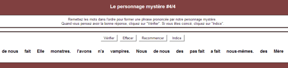 Personnage mystere 4