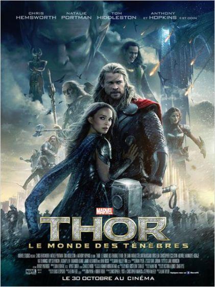 Affiche Thor 2 Le monde des ténèbres