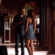 TVD 5x07 Death and the Maiden - Stefan & Elena