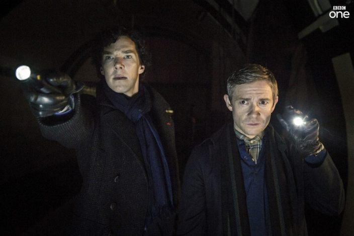 Sherlock et John