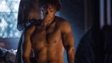 Photo de Nouvelle Photo Pour Outlander Avec Un Jamie Fraser Très Sexy !