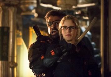 Arrow - S02E23 - Slade et Felicity