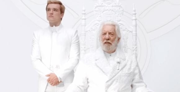Teaser Hunger Games La révolte partie 1 - Snow et Peeta