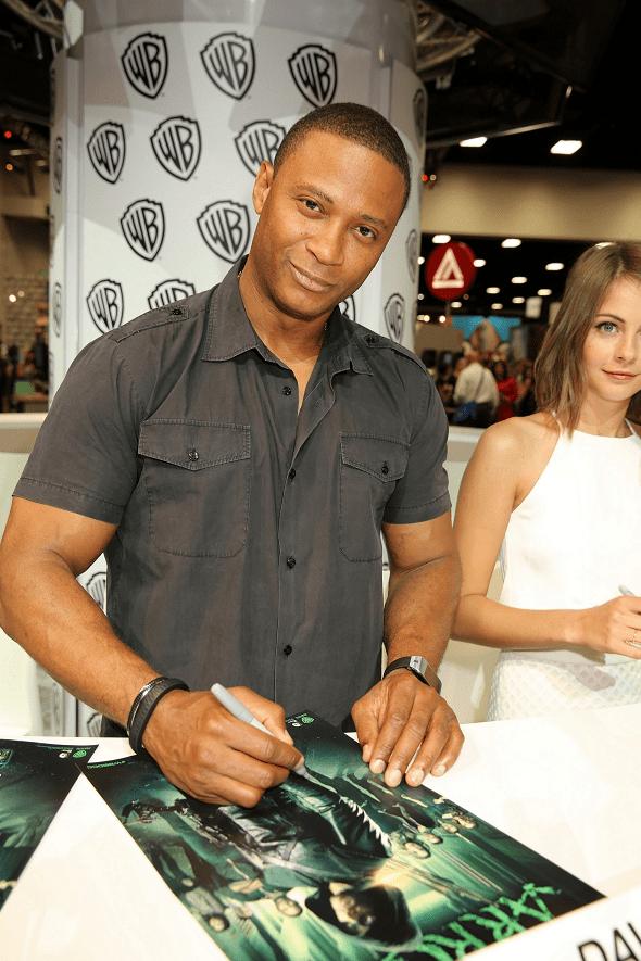 Arrow Comic-Con - David Ramsey