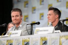 Arrow Comic-Con - Stephen Amell et Colton Haynes