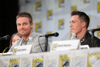 Arrow Comic-Con - Stephen Amell et Colton Haynes