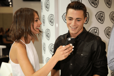 Arrow Comic-Con - Willa Holland et Colton Haynes
