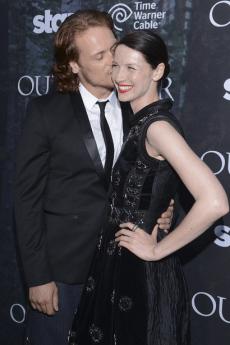 Outlander Premiere - Caitriona Balfe et Sam Heughan