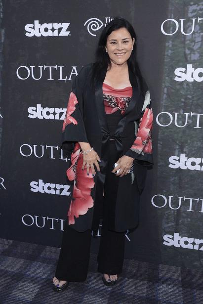 Outlander Premiere - Diana Gabaldon