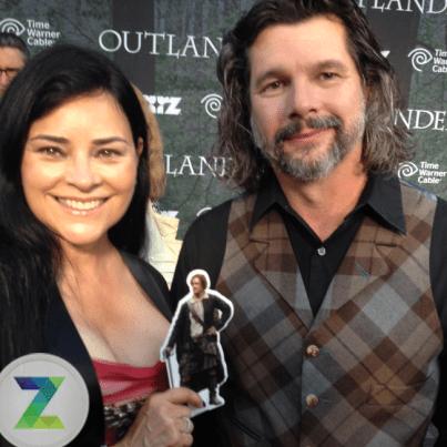 Outlander Premiere - Diana Gabaldon et Ronald D. Moore