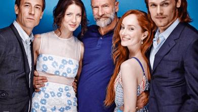 Photo de Présence des acteurs d'Outlander au Comic-Con