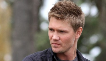 Chad Michael Murray on the set of 'Lies in Plain Sight' in Santa Monica