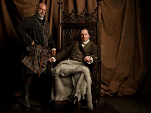 Outlander - Dougal et Colum MacKenzie