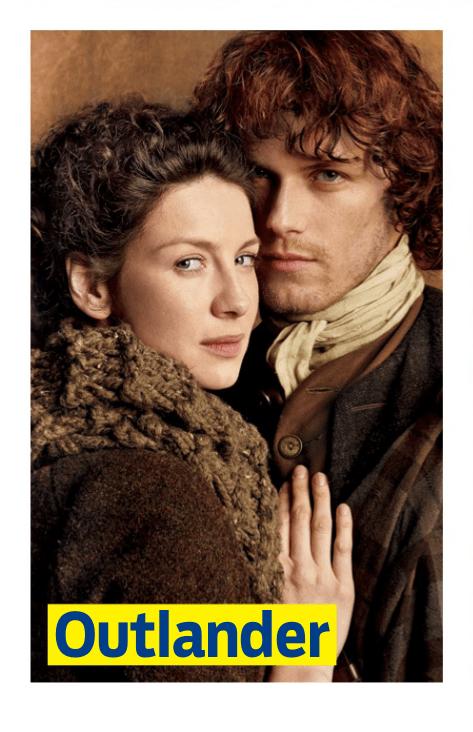 Outlander - Photos Promotionnelles - Claire et Jamie Fraser