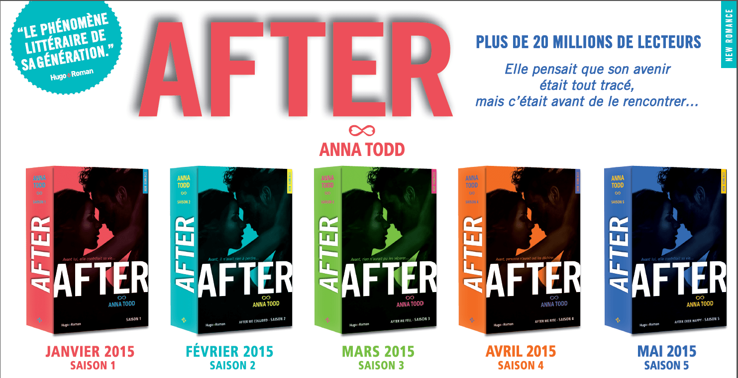 5 Saisons Pour After D Anna Todd