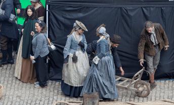 Outlander - Tournage Saison 2