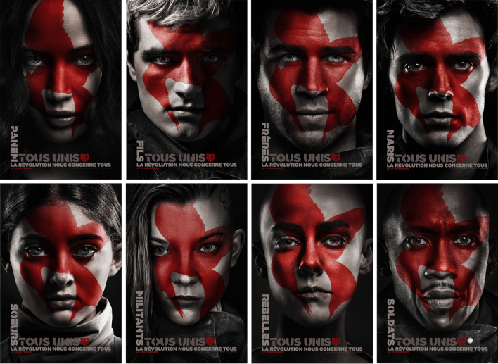 affiches hunger games 4