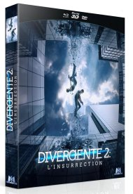 Combo Blu ray 3D Blu ray DVD divergente 2