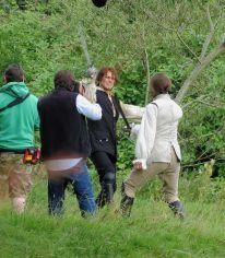 outlander s02 tournage jamie et black jack