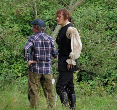 outlander s02 tournage sam heughan