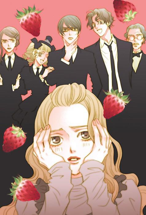 Ichiko et les personnages de sa