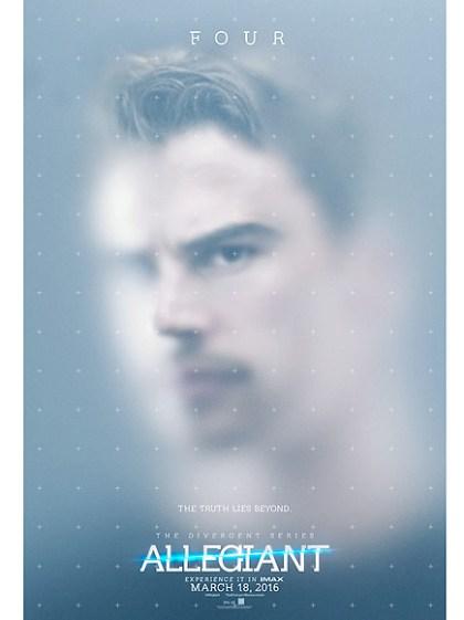 Poster Divergente 3 Allegiant Four