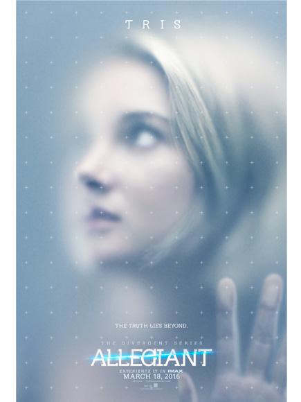 Poster Divergente 3 Allegiant Tris